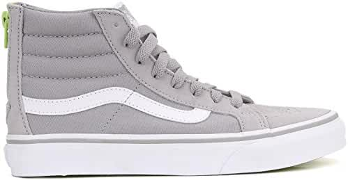 Vans Women's SK8-Hi Slim Zip Pop Silver Sconce