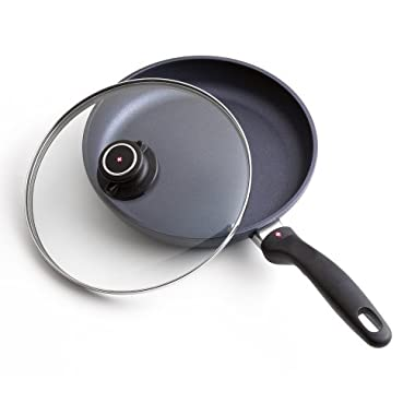 Swiss Diamond Nonstick Fry Pan with Lid - 10.25