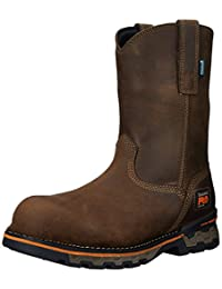 Timberland PRO Men's AG Boss Pull-On Alloy Toe WP Work and Hunt Boot
