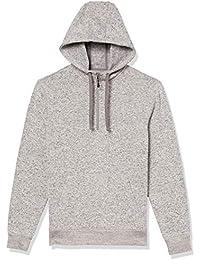 Amazon brand - Goodthreads Men's Sweater-Knit Fleece Long-Sleeve Half-Zip Hoodie