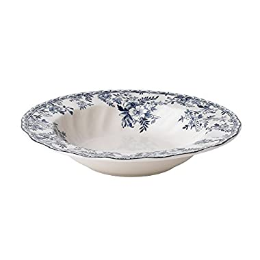 Johnson Brothers 8.25-Inch Devon Cottage Pasta Bowl, Multicolored