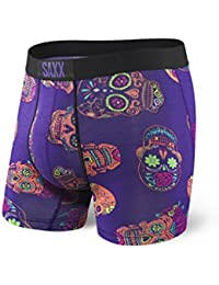 SAXX Underwear Men's Vibe Boxer Brief with BallPark Pouch