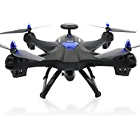 Owill Global Drone X183 With 5GHz WiFi FPV 1080P Camera GPS Brushless Quadcopter RC Helicopter (Black)