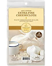 Mrs. Anderson's Baking 22018 Extra-Fine Cheesecloth, 100-Percent Cotton, 40S Weave, 3-Yards
