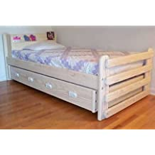 Trundle Bed DIY Woodworking Plan to Build Your Own Majestic Model Twin-Size and Hardware Kit (Wood NOT Included)