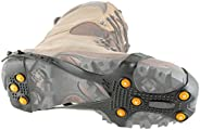 Korkers Footwear Men's Ultra Ice Cleat Snow Boot,Black,Large One size
