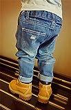EMAOR Unisex Kids Baby Elastic Waist Ripped Holes