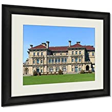 Ashley Framed Prints, The Breakers Is A One Of The Most Fabulous Building Built In 1893 For Cornelius, Black, 24x30 Art, AG6011872