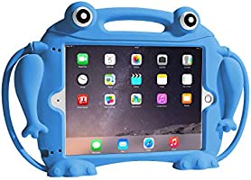 CHIN FAI Kids Case for iPad 9.7 2018 2017 / iPad Air 1 2 / iPad Pro - [Eye Popping Toys] Shockproof Silicone Handle...