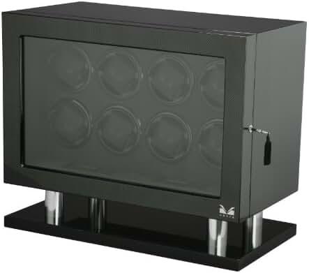 Volta 31-560080 Signature Series Eight (8) Carbon Fiber Watch Winder