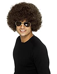 Adult Unisex 60's and 70's Funky Afro Wig