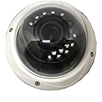 101AV 1080P True Full-HD 4in1 (TVI, AHD, CVI, CVBS) 2.8-12mm Varifocal Lens IR In/Outdoor Dome Camera SONY 2.1 MP 1920x1080 Image Sensor 18 pcs Smart IR 100ft IR Range DWDR UTC OSD
