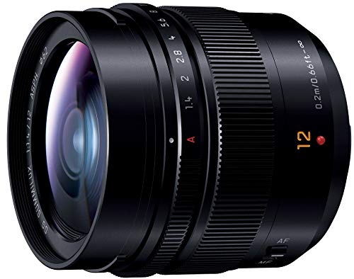 Panasonic Leica DG Summilux 12mm f/1.4 ASPH. Lens H-X012 (International Version) No Warranty