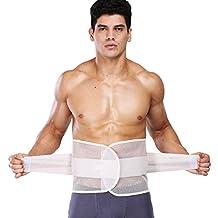 Men's Corset, ABC Men's Belly Waist Abdomen Shaper Burn Fat Shapewear Tummy Trimmer Cincher Girdle Belt (L)