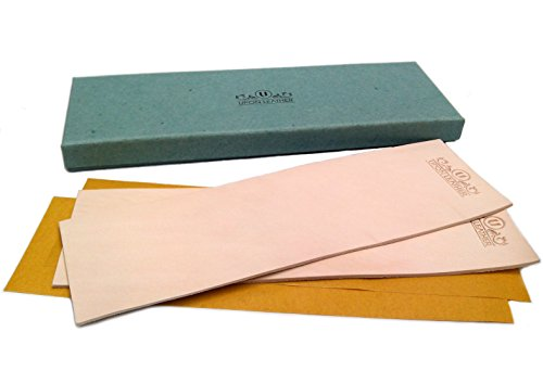 Pack of 2 Leather Honing Strop 3 inch by 10 inch