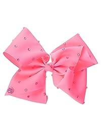 JoJo Siwa Girls JoJo Rhinestone Bow - Pink