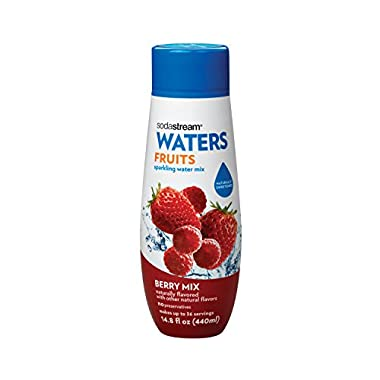 SodaStream Berry Mix Syrup, 14.8 Fluid Ounce