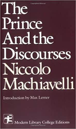 A comparison of the prince and the discourses