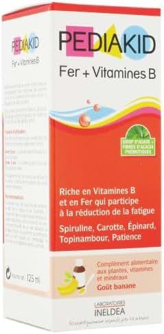Pediakid Iron + Vitamin B 125ml by Pediakid