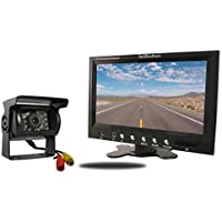 Tadibrothers 7 Inch Monitor and a 120 Degree CCD Mounted RV Backup Camera (RV Backup System)