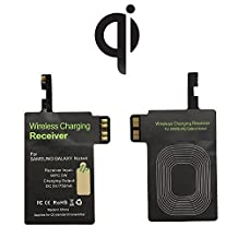 Qi Wireless Charger Receiver Note 4 Nasion.V Standard Wireless Charger Accept Galaxy Note 4 Receiver Patch Module for Samsung Galaxy Note 4 Note 4 N910 / N910F / N910A / N910T / N910P / N910V / N910R4