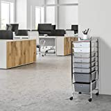 Seville Classics 8-Drawer Multipurpose Mobile