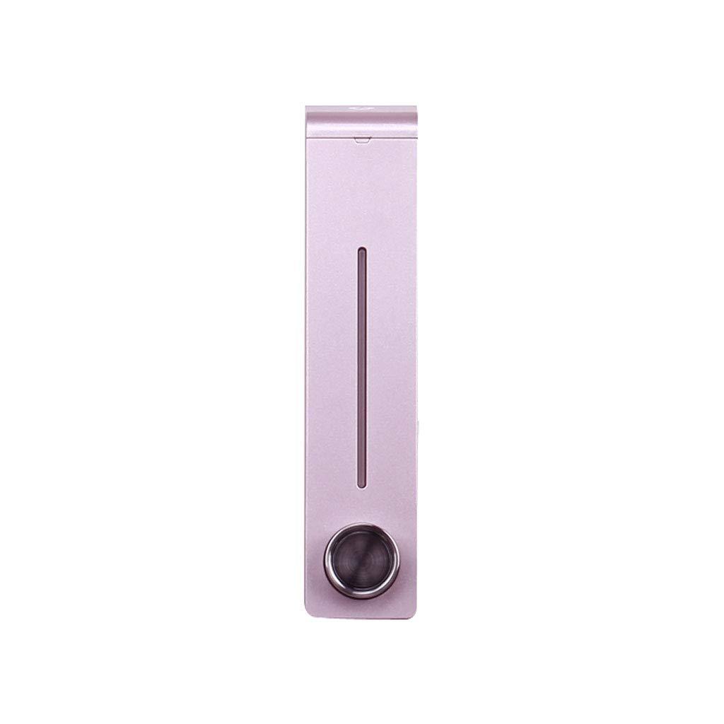 Edelstahl einzigen Kopf frei Loch Seifenspender Badezimmer Wand montiert montiert montiert manuelle Seife Flüssigkeit Spülbecken Flüssigkeit Flasche (Farbe   schwarz Nickel) B07KLVKXHS Seifenspender c2c256