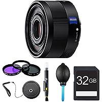 Sony Sonnar T* FE 35mm F2.8 ZA Camera Lens Bundle
