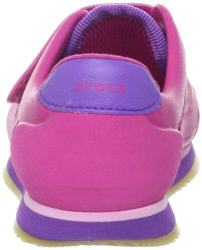 Crocs 14827 Retro Molded schuhe Turnschuhe (Toddler Little Little Little Kid Big Kid),Fuchsia Neon lila,9 M US Toddler 7581f7
