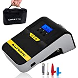 12 Volt Car Air Compressor Pump - Portable Auto Digital Tire Inflator with LED Display for Car/Motorcycle/Bike/Ball