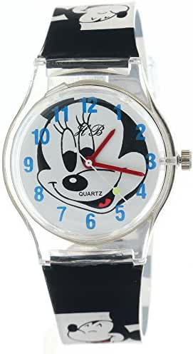 DisneyCartoon Kids Jelly Band Analogue Quartz Watches