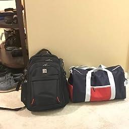 3ceb1952014 Amazon.com  Customer reviews  REYLEO Sports Gym Bag Small Travel ...