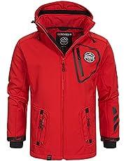 Geographical Norway Softshelljack voor heren, functionele jas, outdoor, regen en sport