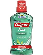 Colgate Plax Antibacterial Alcohol Free Mouthwash Freshmint