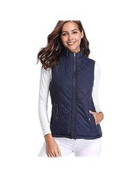 LISTHA Waistcoat Vest Women Solid Sleeveless Jacket Thick Warm Coat Cardigan