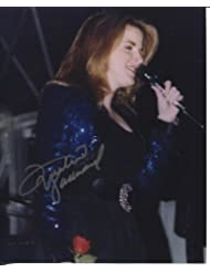 "* TRISHA YEARWOOD * young ""In Concert"" signed 8x10 photo / UACC RD # 212"