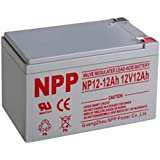 NP12-12Ah F2 Terminal Rechargeable Sealed Lead Acid 12V 12Ah Battery