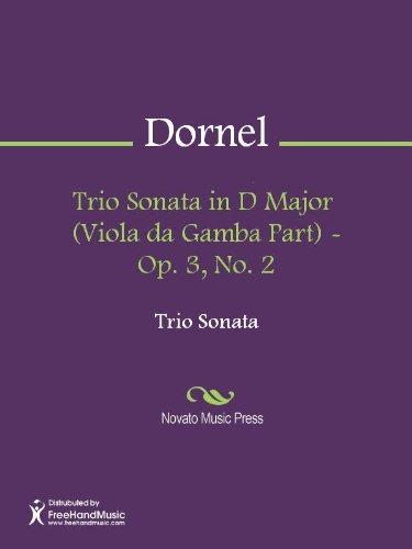 Trio Sonata in D Major  (Viola da Gamba Part) - Op. 3, No. 2