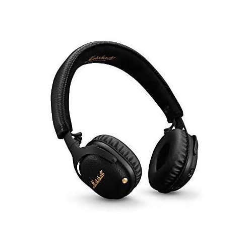 chollos oferta descuentos barato Marshall Mid Active Cancelación de Ruido A N C Auriculares con Bluetooth Negro