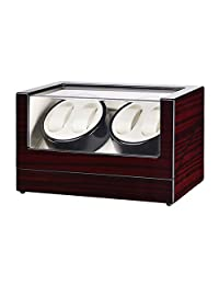 Automatic Watch Winder Storages Box Watch Box Winder with Quiet Japanese Mabuchi Motor