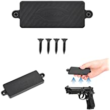 Magnetic Gun Mount, Firearm Accessory Holster For Vehicle & Home, Powerful Rubber Coated 35 Lbs, Conceal Holder For Handgun, Revolver, Rifle, Shotgun, Pistol in your Car, Truck, Bedside or Desk TOPMAG