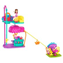 Mattel Polly Pocket Wall Party Cafe Playset
