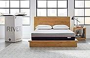 Amazon Brand – Rivet Mattress - Supportive Pressure Relief Memory Foam with Celliant Cover for Restorative Sle