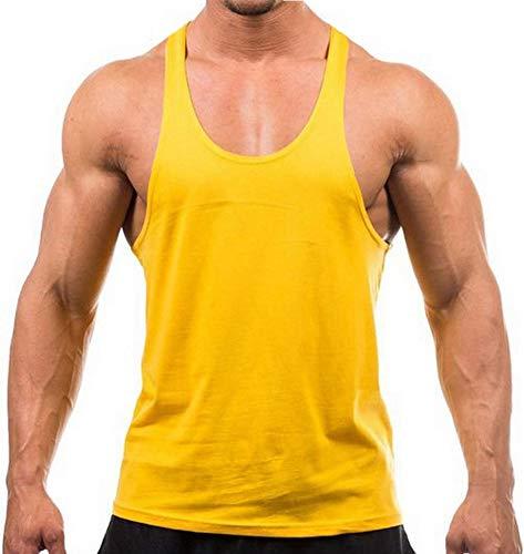 YAKER Bodybuilding Stringer Tank Top Y-Back