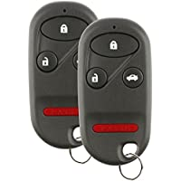 Discount Keyless Replacement Key Fob Car Entry Remote Compatible with Acura Integra CL A269ZUA108 (2 Pack)