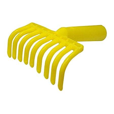 Rastrello pettine Manina in plastica per la raccolta delle olive, con predisposizione per manico Pezzi 5