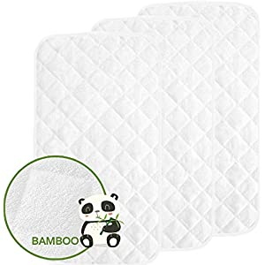 White Changing Pad Cover in 100/% Cotton Knit by Especially For Baby Set of 2