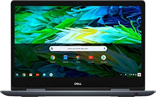 2020 Newest Dell Inspiron Chromebook 14 FHD 1080P Touchscreen 2in1 Convertable Laptop for Business Student| Intel Core i3-8130U up to 3.4GHz| 4GB RAM| 128GB eMMC| Chrome OS, Webcam, w/ GM Accesorries
