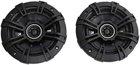 2 Kicker 43DSC504 D-Collection 5.25″ 200W 2-Manner 4-Ohm Automotive Audio Coaxial Audio system