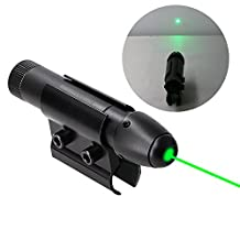 Higooo(tm) Powerful Green Laser Dot Sight, Military Tactical Hungting Green Laser Scope, Green Laser Pointer Presenter Pen Aiming Sight